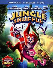 Jungle Shuffle (Blu-ray/DVD, 2015, 2-Disc Set)