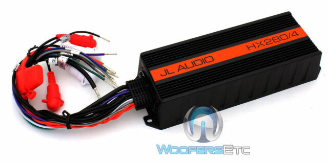 JL AUDIO HX280/4 AMP 4-CHANNEL MOTORCYCLE CAR POWERSPORTS SPEAKERS AMPLIFIER NEW