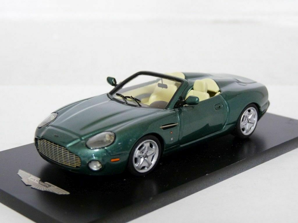 Piranha P14 1 43 '03 Aston Martin DB AR1 Handmade White Metal Model Car Kit
