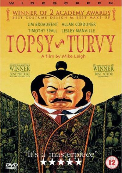 Topsy Turvy DVD Nuovo DVD (P8968DVD)
