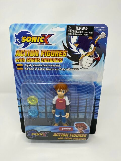 Tails Sonic X Action Figure With 2 Chaos Emeralds Feva Sonic The Hedgehog For Sale Online Ebay