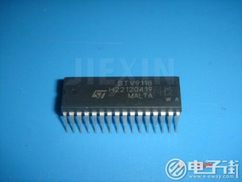 ST STV9118 DIP-32 LOW-COST I2C CONTROLLED DEFLECTION USA ship