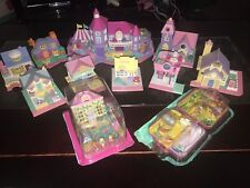 Polly Pocket House Lot From 1989- 1994 ( EXCELLENT CONDITION!!!!) 20+ Items 😊