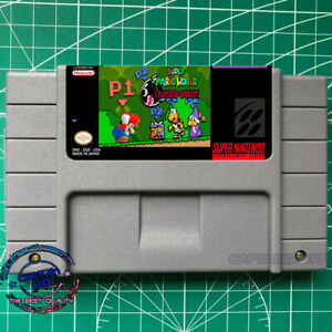 Super Mario World  Co-op Quest! 2 PLayer Control enemies  SNES Video Game US