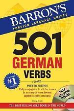 501 German Verbs with CD-ROM 501 Verb Series
