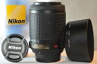 Nikon DX AF-S VR Nikkor 55-200mm G ED lens 2166 for D3300 D5300 D3200 D3100 D90