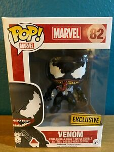 "Funko Pop!Marvel Venom #82 Exclusive Vaulted Vinyl Figure ""MINT"" With Protector"