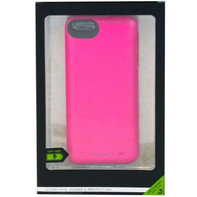 online retailer c0a5b 7786d mophie Juice Pack Helium for iPhone 5 Rechargebale External Battery Case  Pink