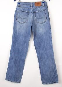 HUGO BOSS Hommes HB31 Neuf Jeans Jambe Droite Taille W32 L32 BCZ137