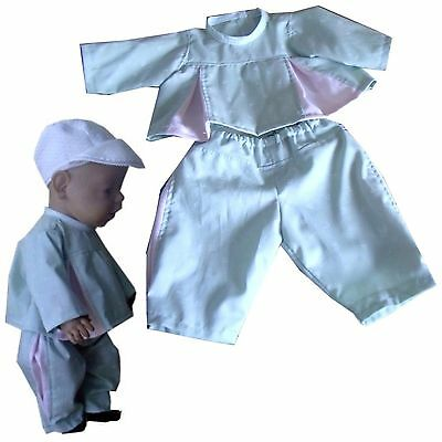 Genial Pk97 Puppenkleidung Für Baby Puppen 43cm üPpiges Design Puppen & Zubehör