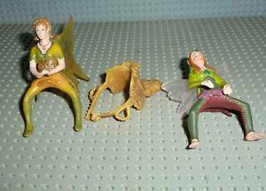 Schleich Bayala 2 Reiter-Figuren mit Sattel - anschauen