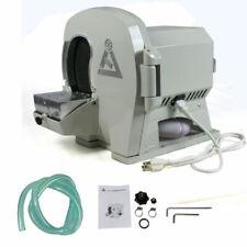 110v Dental Model Trimmer Abrasive Disc Wheel Gypsum Arch Amp Round Vibrator 4 Us