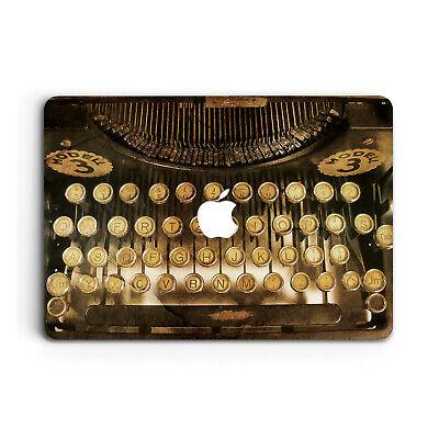 Retro Typewrite Art Cover Case For Apple Macbook Pro Retina Air 11 12 13 15 2018