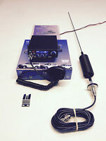 CB Radio Starter Pack Kit Team TS-6M + Mini Stinger Antenna & Large Washer Kit