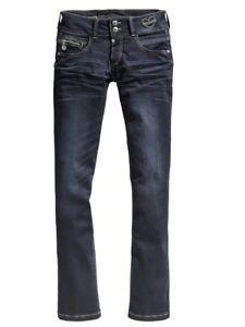 timezone damen jeans gretatz bootcut blau noble blue wash ebay. Black Bedroom Furniture Sets. Home Design Ideas