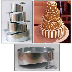 Mini Heart Topsy Turvy Cake TinsWeddingBakeware Non Stick Baking Pans