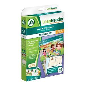 Amical Leapfrog Leapreader Activity Book Set: L'écrire! Engineering A Win 4-8 Ans-afficher Le Titre D'origine Large SéLection;