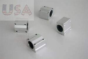 Details about 4PCS SC10UU 10mm Slider Linear Motion Ball Bearing Slide  Bushing Replacement CNC