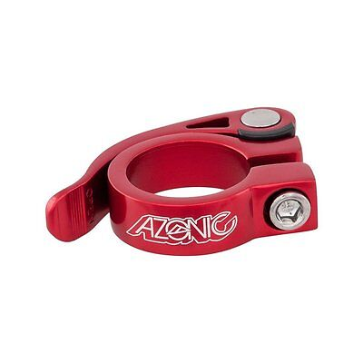 Azonic Bicycle Seat Clamp Gonzo 34.9mm Red Model 3034-202