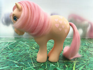 My-Little-Pony-G1-Peachy-Earth-Vintage-Toy-Hasbro-1982-Collectibles-MLP-G