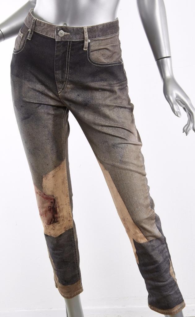 ISABEL MARANT Womens Valone Serge Poliakoff ANTHRACITE Jeans Denim 36 NEW  660