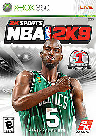 NBA 2K9 - Xbox 360 Xbox Live - Tested Good condition! 710425394829