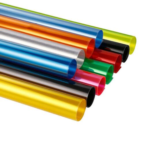 Selbstklebende Tönungsfolie Aufkleber Farbwechsel Autoscheinwerfer Rücklicht