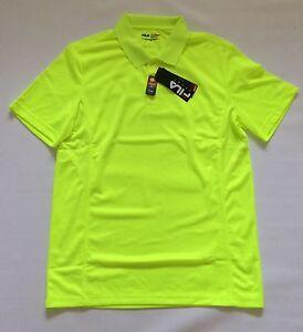 1356fe795bbd4 BNWT Fila Sport Golf Men's Fitted Pro Core Performance Polo Shirt Sz ...