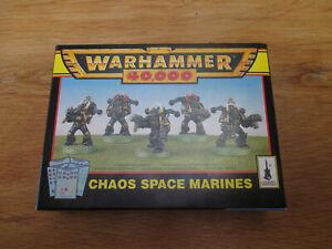 D11C33 SPACE MARINE CHAOS WARHAMMER 40000 W40K (1996) NIB OPENED