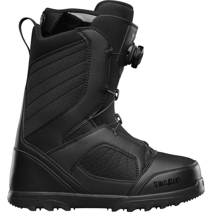 bf7b74f5f358 ThirtyTwo Men Men Men STW BOA Snowboard Boots (9) Black a4aa99 ...