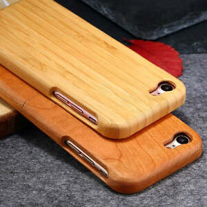 Luxury-Combo-Real-Natural-Wooden-Wood-Bamboo-Case-For-Apple-iPhone-7-7-Plus-5-5-034