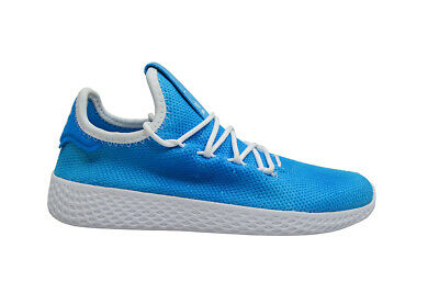 Dettagli su Bambini Adidas Pharrel Williams Tennis Human Race Bb6837 Blu Brillante