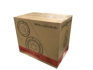 2-Wharfedale-Diamond-220-Speakers-Black-New-Specialized-Trade