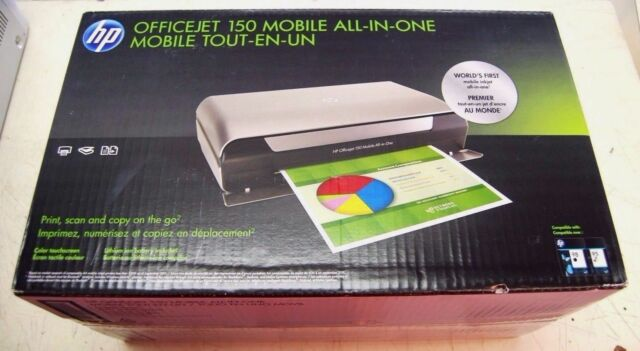 Hp Hpcn550a Officejet 150 Mobile All In One Inkjet Printer Black For Sale Online Ebay