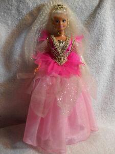 Barbie-Princess-Doll-1988-Display-Piece-Only-Mint