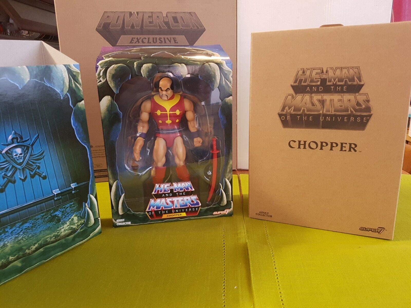 Motuc CHOPPER master of universe mattel