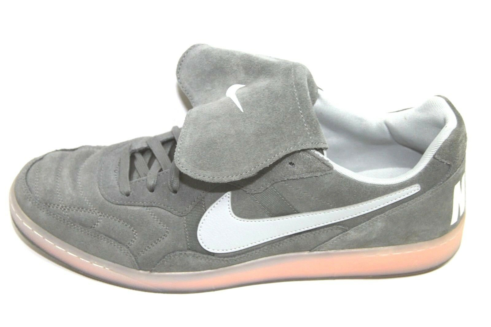 Mens Nike 631689-018 Tiempo 94 Grey orange Athletic shoes Sz 14 NWOB  110