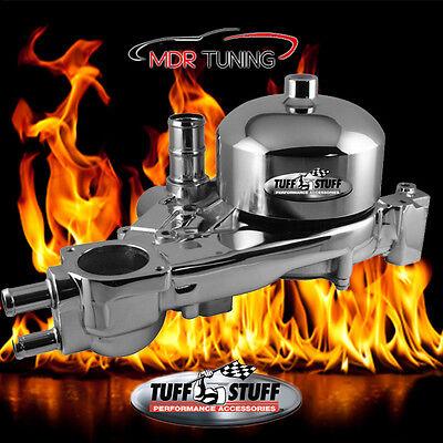 TUFF-STUFF POLISHED Heavy Duty Water Pump GM LS-Series LS1 LS2 LS3 LS6 P/N 1310B