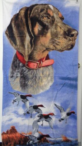 "German Pointer Beach Bath Towel 30/"" x 60/"" Dog Velour"