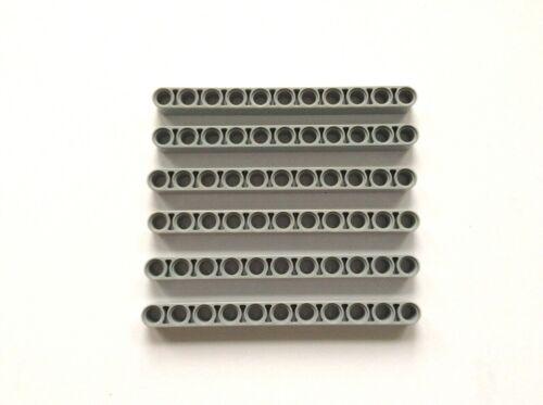 Lego 32525 ~ Technic Beam 1 x 11 Thick LBG x 6