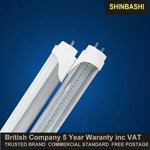 LED T8 Tube Light 2ft 3f 4ft 5ft Top Quaulity Inc VAT UK