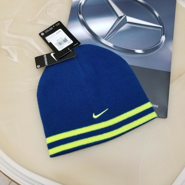 b282d062198 Buy Youth Boys Size 8 20 Nike Stretch Knit Winter Beanie Reversible ...