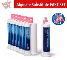 Dental Alginate Substitute 8 X 50ml Cartridges Fast Set Mark3 9010 Made In Us