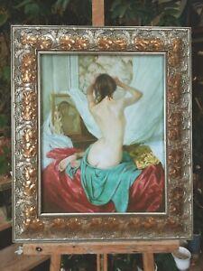 huile-toile-NU-ASSIS-signe-SHEVCHUK-Alexander