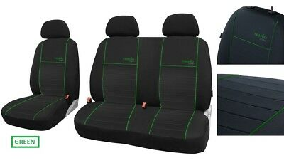 Tailored Eco-Leather Seat Covers MERCEDES VITO 447 9 SEATER 2014 onward