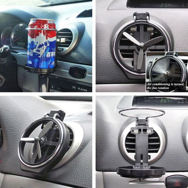 Car Truck Wind Air Outlet Folding Cup Bracket Bottle Drink Holders For Car  TDC