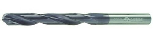"Cobra Carbide 31039 19//32/"" TIALN Coated Carbide Jobber Drill Len 6/"" USA"