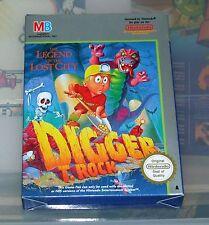 Digger T. Rock - Nintendo Nes NTSC US - Neuf / New