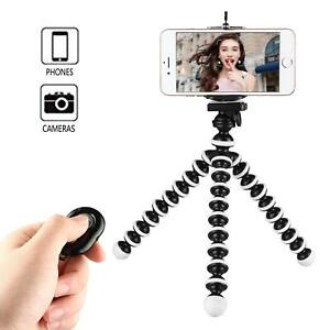 watch 671e2 eaa7a Details about 10 inches Phone Tripod Selfie Stick Bluetooth w/ Remote for  iPhone Galaxy Gopro