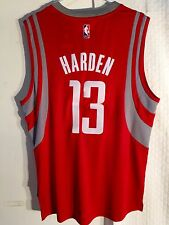 c3a0e41be88 adidas Swingman NBA Jersey Thunder James Harden Navy Alternate Sz 2 ...
